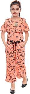 KRISHNA INDUSTRIES Girls' Midi Jumpsuit