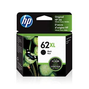 HP 62XL | Ink Cartridge | Works with HP ENVY 5500 Series, 5600 Series, 7600 Series, HP Officejet 200, 250, 258, 5700…