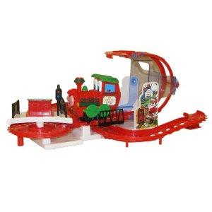 Kurt Adler Musical North Pole Express Train 41hT94KbvhL
