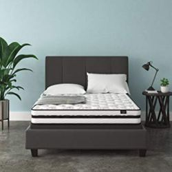Signature Design by Ashley Chime 8 Inch Firm Hybrid Mattress, CertiPUR-US Certified Foam, Queen
