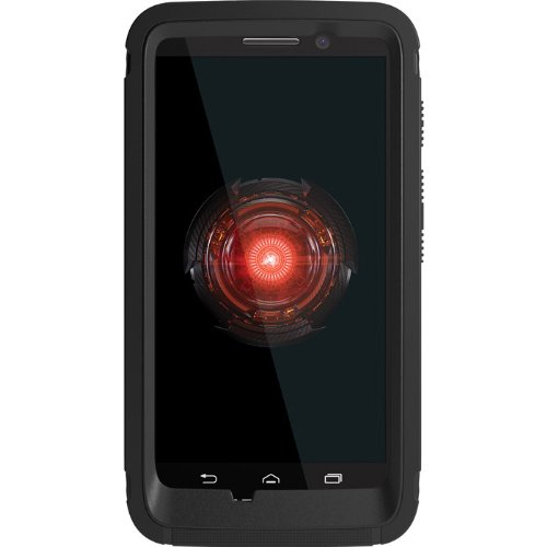 OtterBox Defender Series Case for Motorola DROID Mini - Retail Packaging - Black