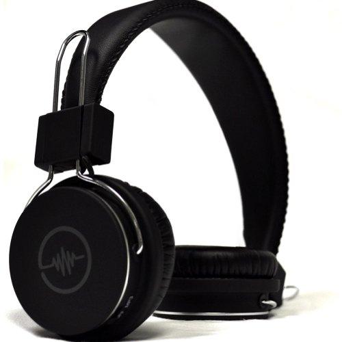Blue Tiger SoundTrax Wireless Bluetooth Headphones – Black