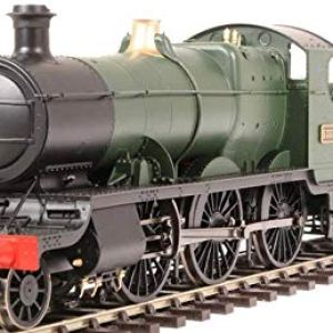 Heljan 4301 Class 43xx Mogul 2-6-0 5355 in GWR green with shirtbutton emblem 41hfX01 84L