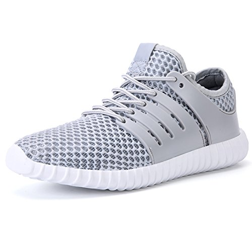 JACKSHIBO Men Casual Fashion Sneakers Breathable Athletic Sports Shoes