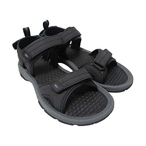 Khombu Men's River Sandals for Women - Walking Hiking Casual Summer Shoes (11, Black)