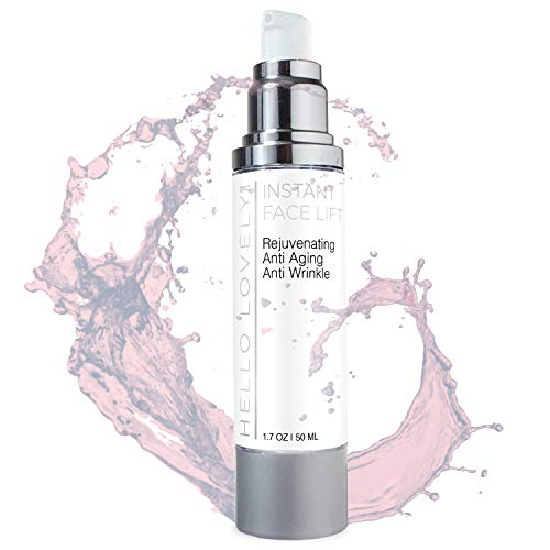 Hydrating Face Lift Cream & Firming Moisturizer 50ml - Immediately Lifts, Tightens & Firms Aged and Dry Skin, Fine Lines, Wrinkles, Serum Helps Lift, Firm, Soften & Smooth Skin - 1.7oz Unscented