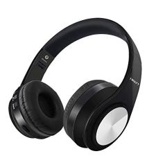 Fire-Boltt Blast 1000 Hi-Fi Stereo Over-Ear Bluetooth Headphones with Foldable Earmuffs, 20-Hours Playtime & Built-in Mic (Black)