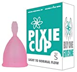 Ranked 1 for Most Comfortable Menstrual Cup and Best Removal Stem - Every Cup Purchased One is Given to a Woman in Need! (Small)