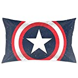 Pillow Cases Captain America Throw Cushion Covers Body Pillow Cover for Car Sofa Bed Home Decor 20'x30'