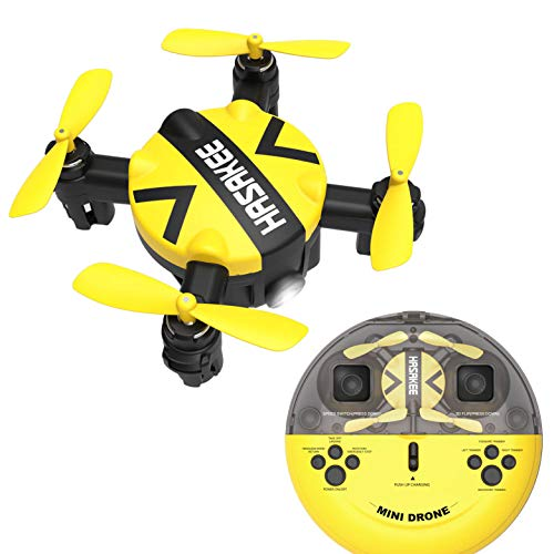 K5 Mini Nano Drone with Altitude Hold and Headless Mode RC Quadcopter with 3D Flips and High Speed Spin Function,Portable Pocket Drone for Kids & Beginners
