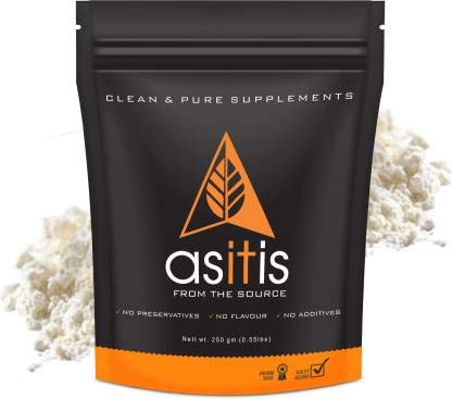 AS-IT-IS Nutrition ( Beginners ) Whey Protein Concentrate 80% Unflavoured (250Gm)