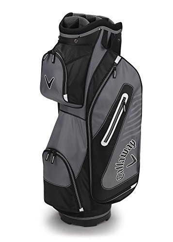 Callaway Golf 2017 Capital Cart Bag, Black/White