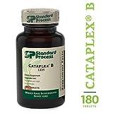 Standard Process - Cataplex B - 20 mg Niacin, Thiamin, Vitamin B6, B-Vitamin Supplement, Supports Metabolic, Cardiovascular, Healthy Cholesterol Levels, and Nervous System - 180 Tablets
