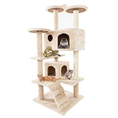 Cat Tree Kitten Multi-Level Activity Tower, Condo with Perches,...