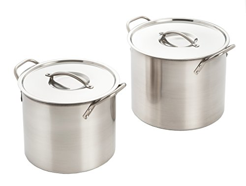 Excelsteel-Set-Of-2-Stainless-Steel-Stockpot-With-Lids