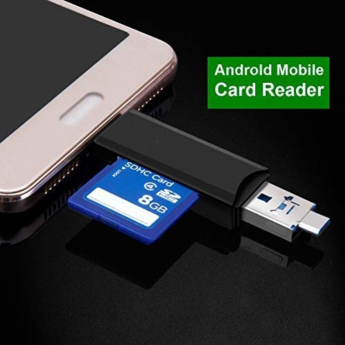 Brand Conquer Card Reader, USB 3.0 All-in-1 USB 3.0/USB C/Micro USB Card Reader - SD, Micro SD, SDHC, Micro SDHC, Micro SDXC Memory Card Reader for MacBook PC Tablets Smartphones with OTG Function 6