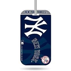Rico Industries MLB New York Yankees KeychainKeychain Luggage Tag, Team Colors, One Size