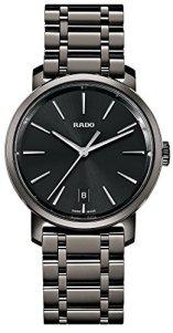 Rado DiaMaster XL Black Dial Ceramic Men's Watch R14066182