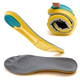 GAOAG Orthotic Plantar Fasciitis Shoe Insole Sport Breathable Cushion Height Increase Insole Comfort Performance Insole (Men's(9.5-13) Women's(11-14.5)
