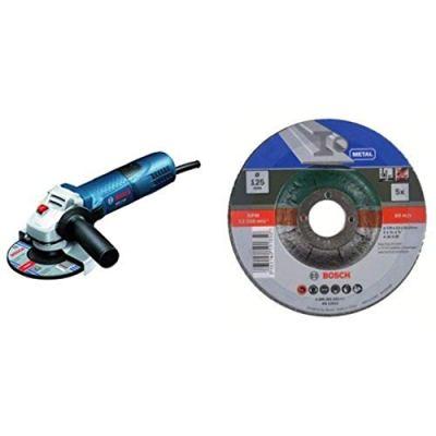 Bosch-Professional-Winkelschleifer-GWS-7-125-Trennscheiben-Set-5tlg