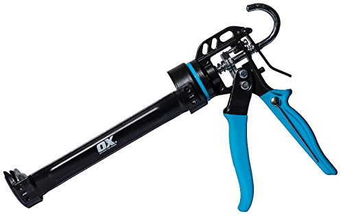 OX Tools Pro 10 oz Caulking Gun, 12:1...
