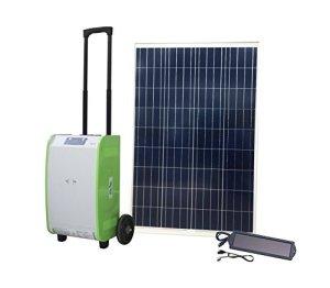 Nature PowerPak 40415 1800-Watt Portable Solar Generator Starter Kit with 100-Watt Solar Panel for Off-grid, Tailgating, RV, Cabin, Emergency, Job site power