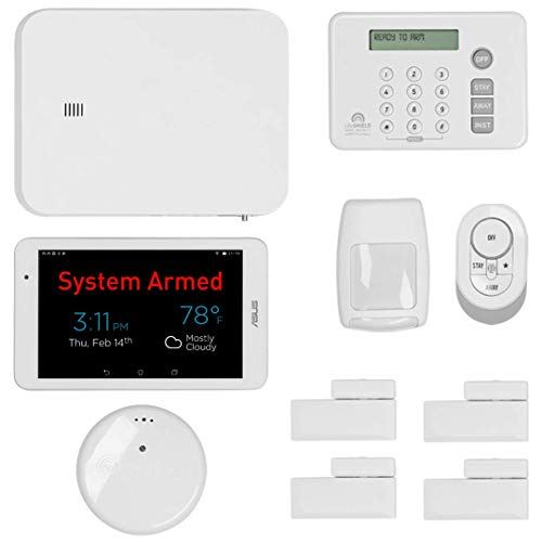 LifeShield, an ADT Company - 11-Piece Easy, DIY Smart Home Security System - Optional 24/7 Monitoring - No Contract - Wi-Fi Enabled - Alexa Compatible