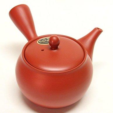 Japanese Teapot Tokoname Kyusu / Studio Morimasa / Tou-ami / 400 ml (13.5 fl oz)
