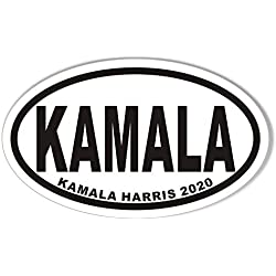 Kamala Harris for President 2020 Oval Bumper Sticker