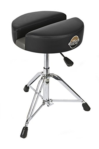 Carmichael Throne CT201-15BV Hydraulic Drum Throne with Patented Split Seat Technology; For Lower Back, Sciatica, Tailbone, Coccyx, Degenerating Disc, Sacrum, Prostate and Pelvic Pain Relief!