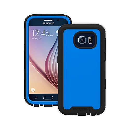 Trident Cyclops Series Case for Samsung Galaxy S6 - Retail Packaging - Blue