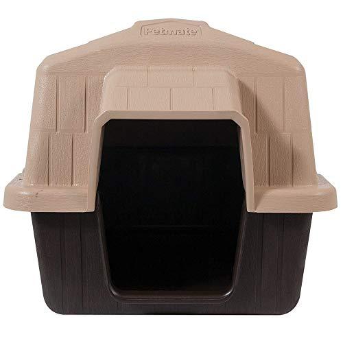 Aspen Pet Petbarn Dog House Snow and Rain Diverting Roof Raised Floor No-Tool...