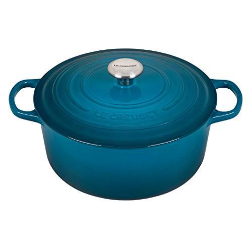 Le-Creuset-Enameled-Cast-Iron-Signature-Round-Dutch-Oven-725-qt-Deep-Teal