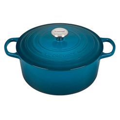 Le-Creuset-Enameled-Cast-Iron-Signature-Round-Dutch-Oven-725-qt-Deep-Teal