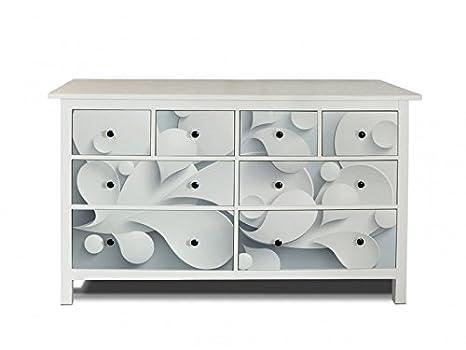 Yourdea Di Mobili Pellicola Per Ikea Hemnes Comò 8 Cassetti