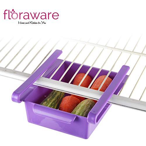 41iuQqTZZvL Floraware Refrigerator Storage Rack, Set of 2