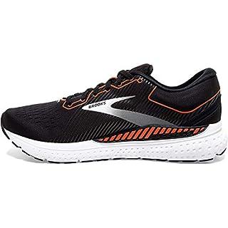 Brooks Mens Transcend 7 Running Shoe – Black/Cherry Tomato/White – D – 11.5 Running Shoes Near Me