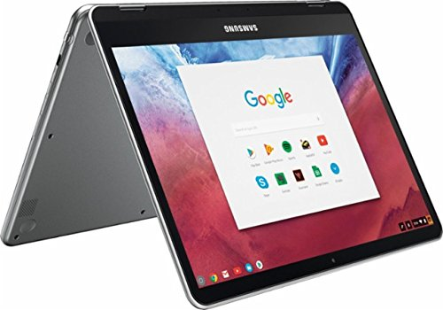 Samsung Newest 2-in-1 Convertible Touchscreen 12.3 inch Chromebook Plus, 4GB RAM, 32GB eMMC, Webcam, Stereo Speakers, Chrome OS, Built-in Pen, Platinum Silver