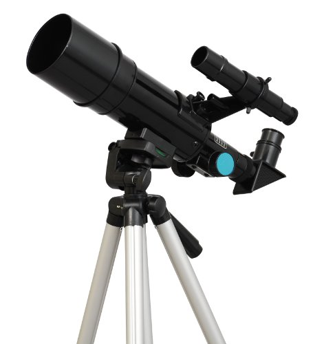 Black Twinstar 60mm Compact Kids Telescope
