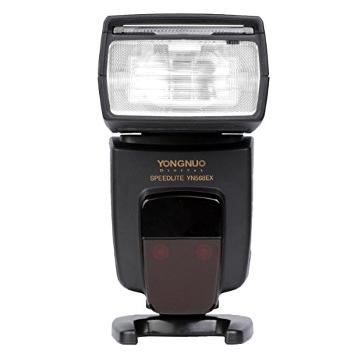 YONGNUO YN-568EX Camera Flash Speedlite Wireless TTL HSS 1/8000s GN58 for Nikon DSLR D7000 D5300 D5200 D5100 D5000 D3300 D3100 D3000 D800E D800 D700 D600 D300 D300S D90 D40