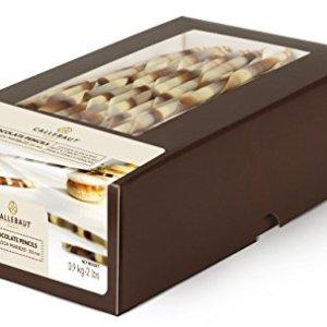 Callebaut Van Gogh Marbled – Black & White Chocolate Pencils 20cm 900g 41j9xgDkiSL