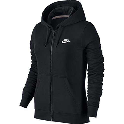 5188XRII99L Fleece fabric is brushed on the back for a soft feel against the skin. Cozy hood is lined with jersey for warmth and comfort. Nike corporate logo is embroidered on the left chest.