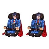 Kids Embrace DC Comics Superman Combination Harness Booster Car Seat (2 Pack)