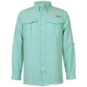 HABIT Mens Belcoast Long Sleeve River Guide Fishing Shirt 2