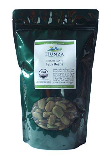 Hunza Organic Fava Beans (2 lbs)