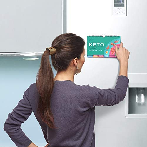 Willa Flare Keto Cheat Sheet Magnets - Easy Reference for 192 Keto Snacks and Foods! Correct Ketogenic Measurements for your Keto Cookbook - Easy Keto Diet Fridge Guide PLUS Extra List of 500 Foods 4