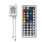 SUPERNIGHT IR Remote Controller 44 Keys Mini Wireless Dimmer Control for 5050 3528 RGB LED Light Strip