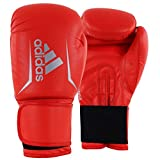 adidas Speed 50 Boxing Gloves Shock Red/Silver 12 oz