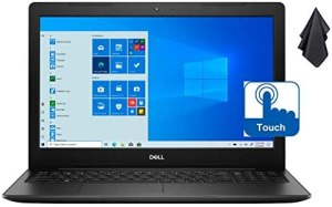 2021 Newest Dell Inspiron 15 3593 Laptop, 15.6″ HD Touchscreen, 10th Gen Intel Quad-Core i7-1065G7 Processor up to 3.90 GHz, 16GB RAM, 512GB PCIe NVMe SSD, Wi-Fi, Webcam, Windows 10 S + Oydisen Cloth