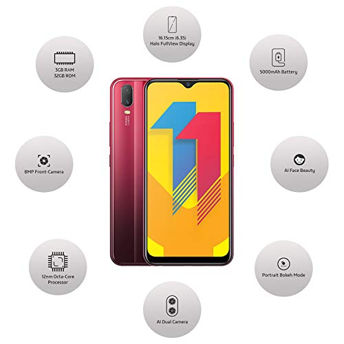 Vivo Y11 (Agate Red, 3GB RAM, 32GB Storage) with No Cost EMI/Additional Exchange Offers 6